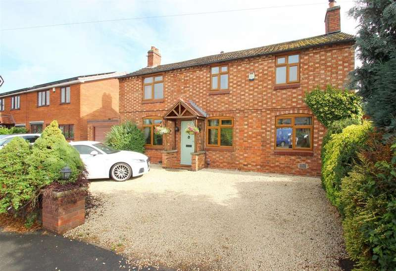 4 Bedrooms Detached House for sale in Rugby Road, Bulkington, Bedworth, CV12 9JQ