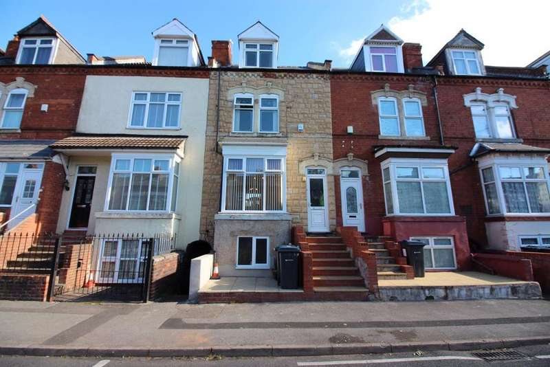 4 Bedrooms Terraced House for sale in Knowle Road, Sparkhill, Birmingham B11