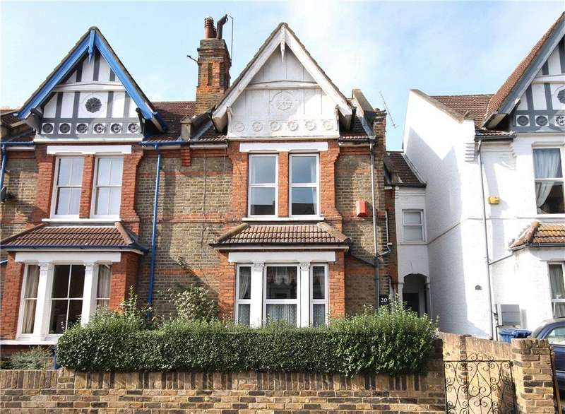 4 Bedrooms Semi Detached House for sale in Broughton Road, London, W13
