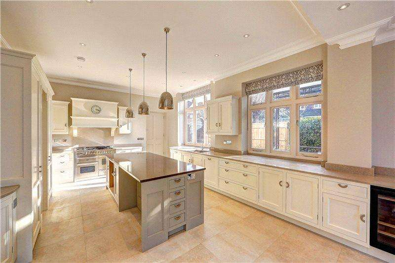 6 Bedrooms Semi Detached House for rent in Lancaster Road, Wimbledon, London, SW19