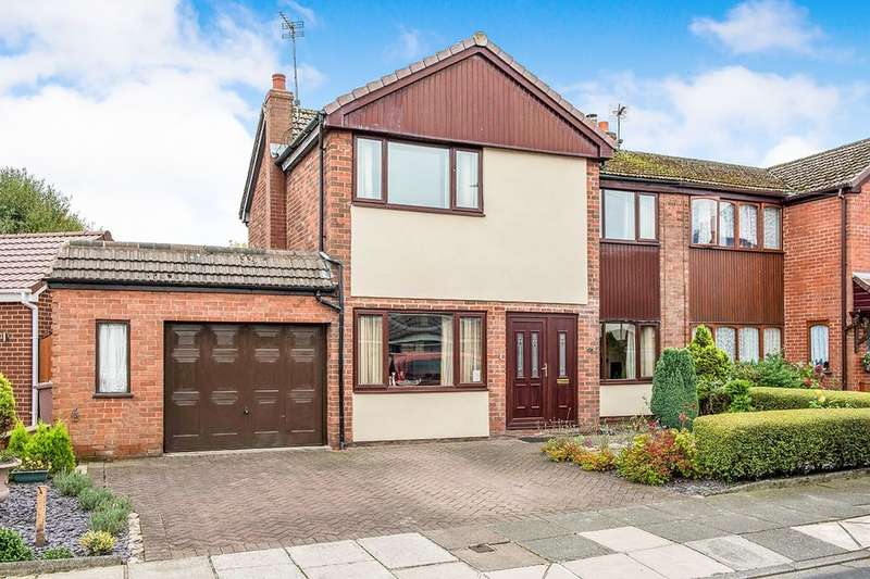 4 Bedrooms Semi Detached House for sale in Langholm Road, Ashton-In-Makerfield, Wigan, WN4