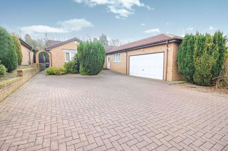 3 Bedrooms Detached Bungalow for sale in Milford Meadow, South Church, BISHOP AUCKLAND, DL14