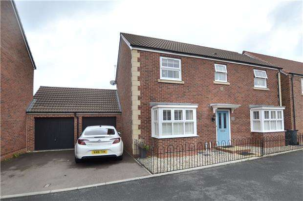 4 Bedrooms Property for sale in Dishforth Drive Kingsway, Quedgeley, GLOUCESTER, GL2 2FD