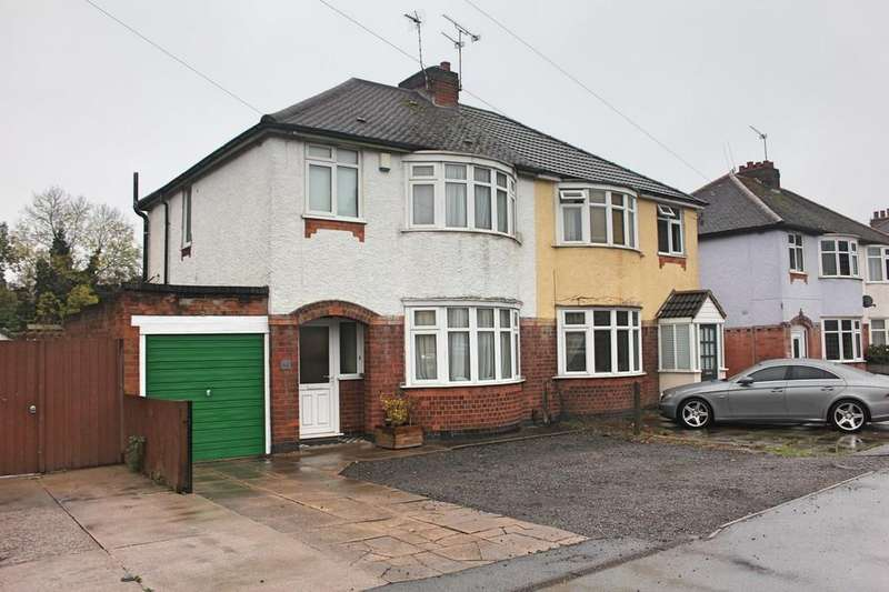 3 Bedrooms Semi Detached House for sale in Little Glen Road, Glen Parva, Leicester