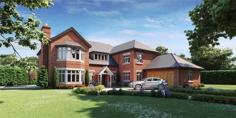 5 Bedrooms Detached House for sale in Brooklea, The Beeches, Malpas, Cheshire, SY14