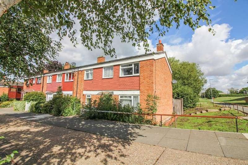 3 Bedrooms End Of Terrace House for sale in Radburn Close, Harlow, CM18