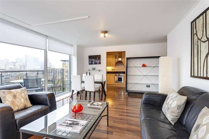 2 Bedrooms Flat for sale in Berglen Court, E14