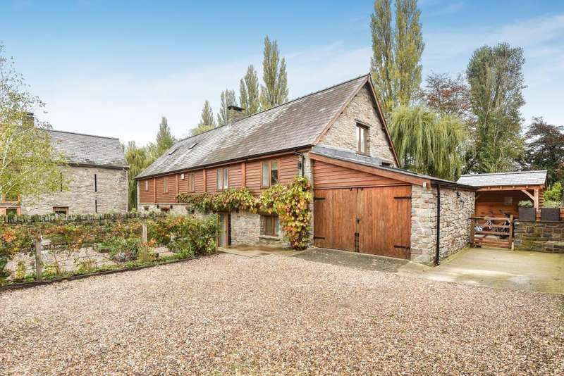5 Bedrooms Detached House for sale in Hay on Wye 1 mile, Ground floor suite, HR3