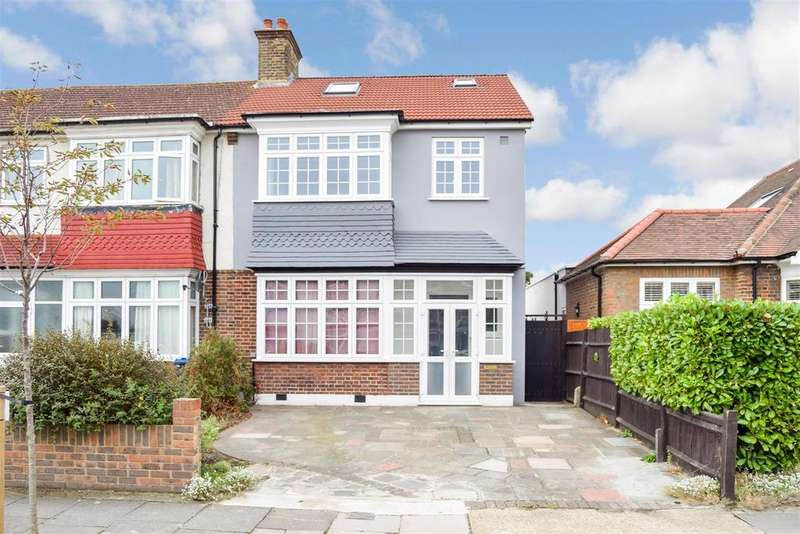 4 Bedrooms Semi Detached House for sale in Daybrook Road, Merton Park
