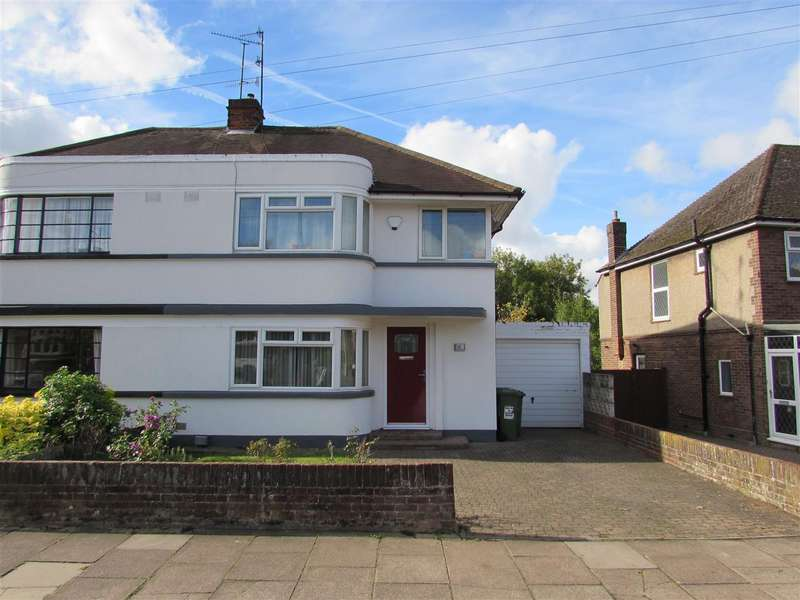3 Bedrooms Semi Detached House for sale in Manton Drive, Luton