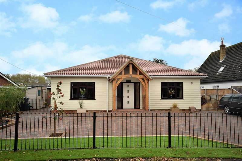 3 Bedrooms Detached Bungalow for sale in Brook Road, Tolleshunt Knights, Maldon, Essex, CM9