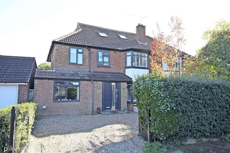 4 Bedrooms Semi Detached House for sale in Shirley Road, MAIDENHEAD, SL6