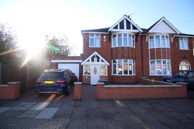 3 Bedrooms Semi Detached House for sale in Somerville Road, Leicester, Leicestershire, LE3 2EW