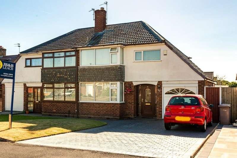 3 Bedrooms Semi Detached House for sale in Avon Road, Billinge, Nr Wigan