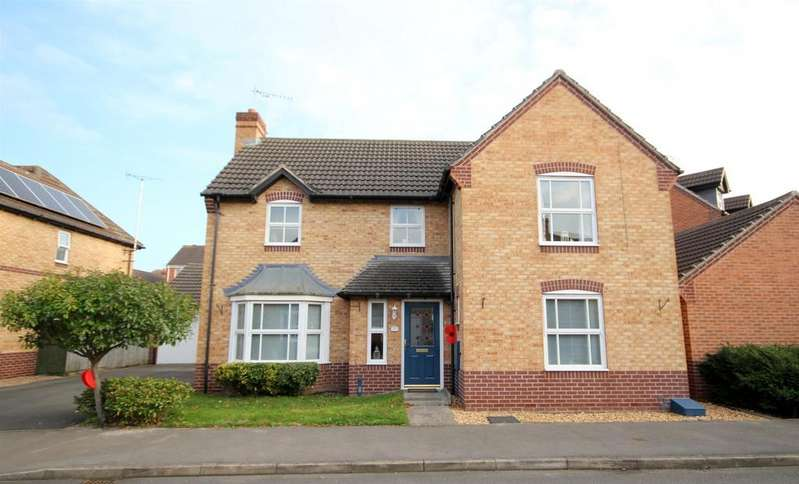 4 Bedrooms Detached House for sale in Ryton Way, Hilton, Derby