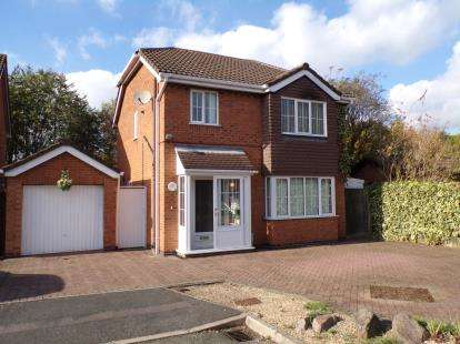 3 Bedrooms Detached House for sale in Marcus Close, Syston, Leicester, Leicestershire