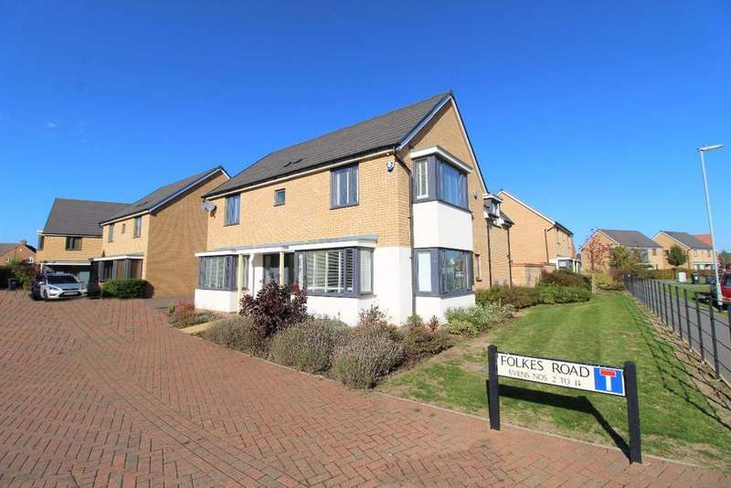 4 Bedrooms Detached House for sale in Folkes Road, Wootton MK43