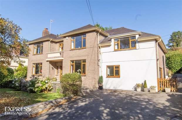 6 Bedrooms Detached House for sale in Cwmbach Road, Llanelli, Carmarthenshire