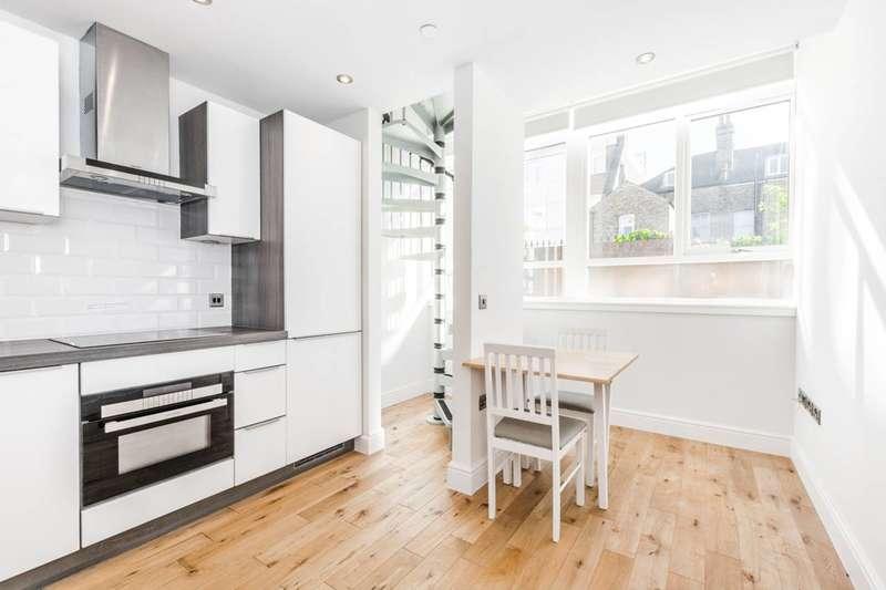 1 Bedroom Studio Flat for sale in Church Hill, Walthamstow Village, E17
