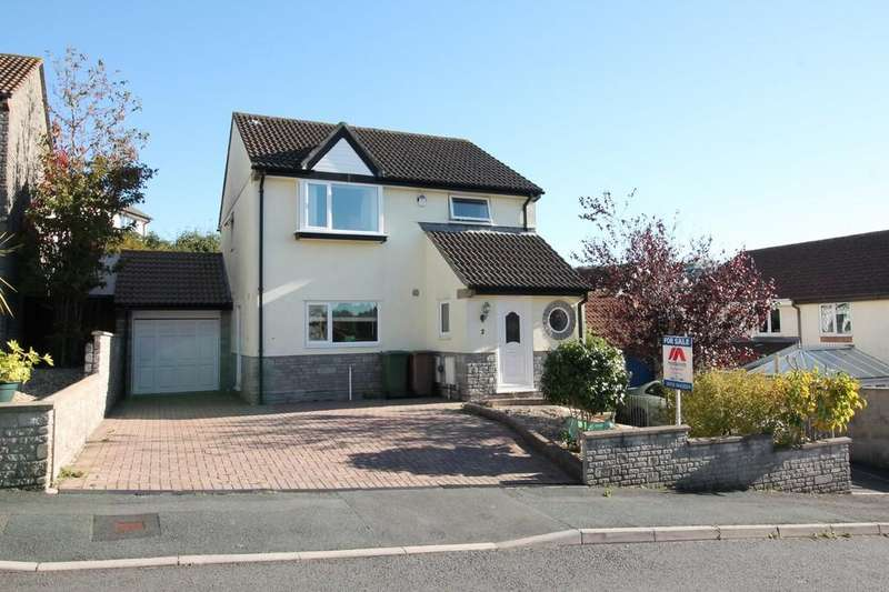 4 Bedrooms Detached House for sale in Newnham Close, Plympton