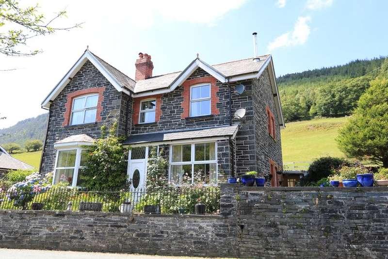 4 Bedrooms Detached House for sale in Llys Awel, Aberllefenni, Machynlleth, Powys SY20