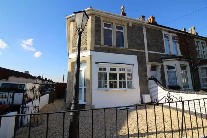 3 Bedrooms End Of Terrace House for sale in Berkeley Road, Fishponds, Bristol, BS16 3LX