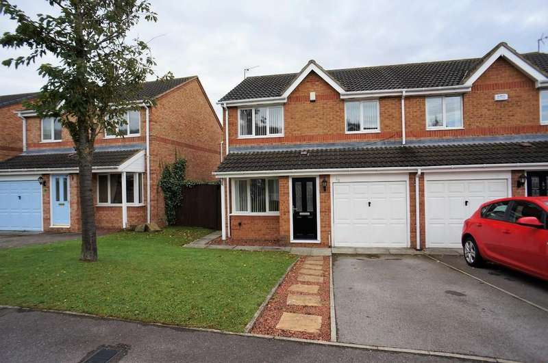3 Bedrooms Semi Detached House for sale in Sheridan Drive, East Stanley
