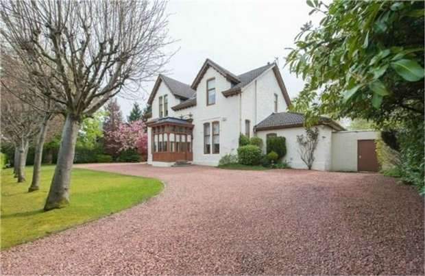 4 Bedrooms Detached House for sale in Corsebar Road, Paisley, Renfrewshire