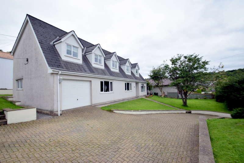 4 Bedrooms Detached Bungalow for sale in Viesther, Jenkins Terrace, Cwmfelin, Maesteg, Bridgend County Borough, CF34 9LA