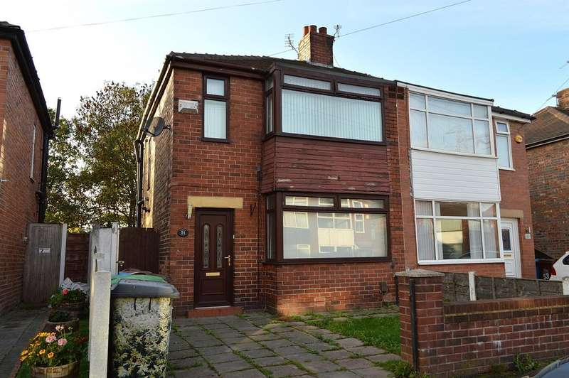 3 Bedrooms Semi Detached House for sale in Welbeck Avenue, Chadderton, Oldham, OL9 9PE