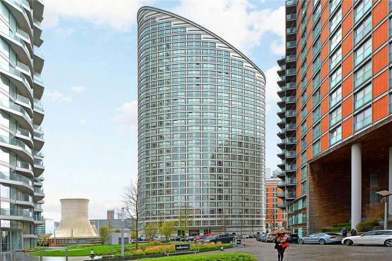 2 Bedrooms Flat for sale in Ontario Tower, fairmont avenue, london, E14 3SF