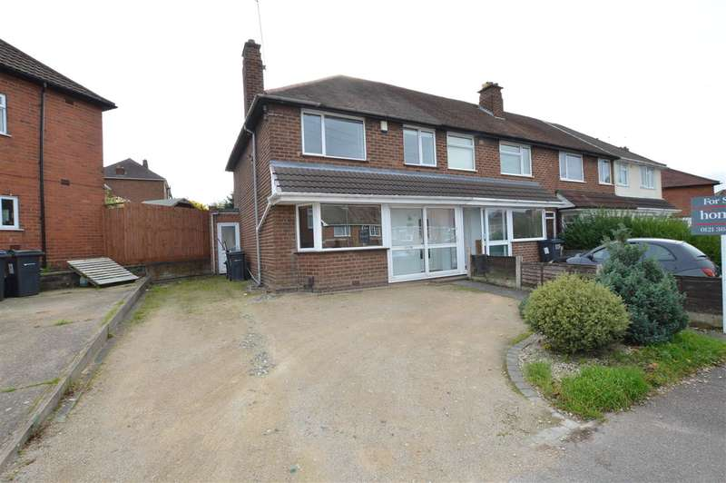3 Bedrooms End Of Terrace House for sale in Brackenfield Road, Great Barr