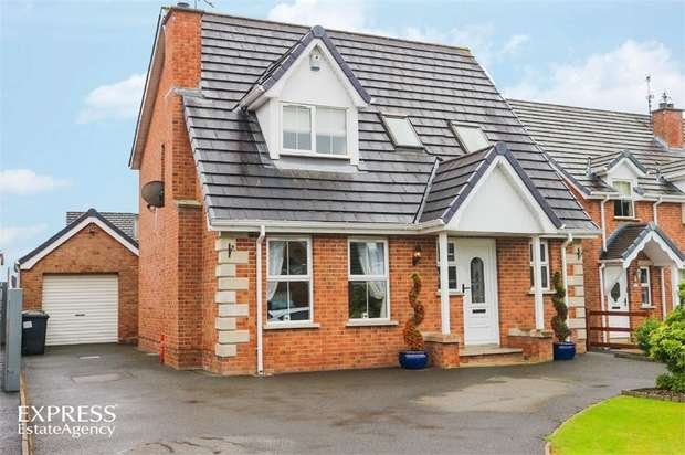 3 Bedrooms Detached House for sale in Limetree Meadow, Lisburn, County Antrim