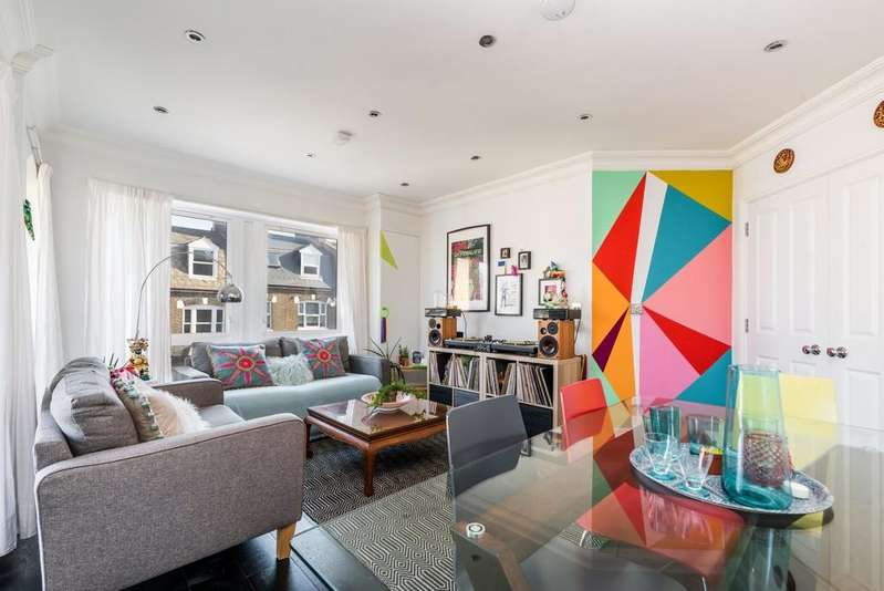 3 Bedrooms Apartment Flat for sale in Wanless Road, London