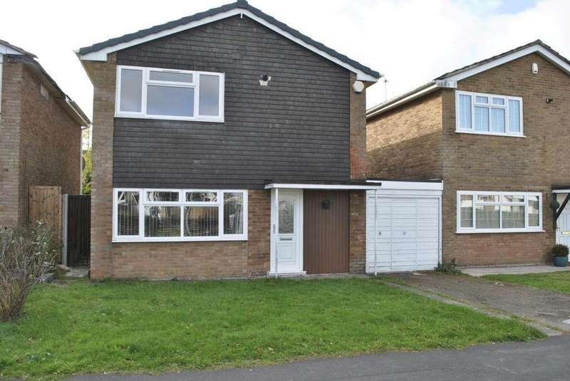3 Bedrooms Detached House for sale in Adlington Road, Oadby, LE2