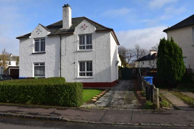 2 Bedrooms Semi Detached House for sale in 8 Balgonie Road, Mosspark, G52
