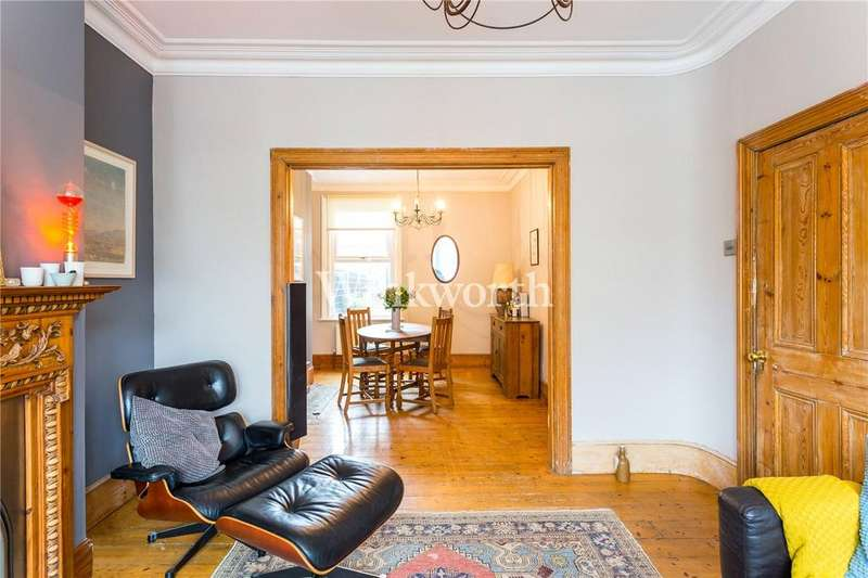 3 Bedrooms Terraced House for sale in Abbotsford Avenue, Harringay, N15