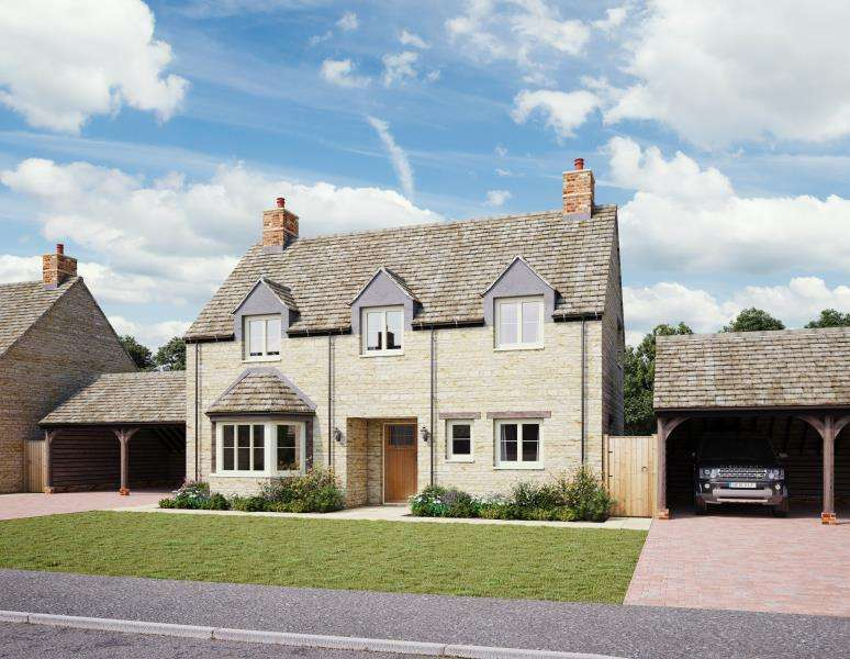 4 Bedrooms Detached House for sale in Plot 4, Tanners Lane, Burford