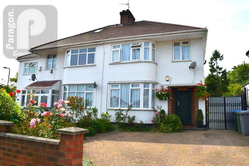 3 Bedrooms Semi Detached House for sale in Church Lane, Kingsbury, London, NW9