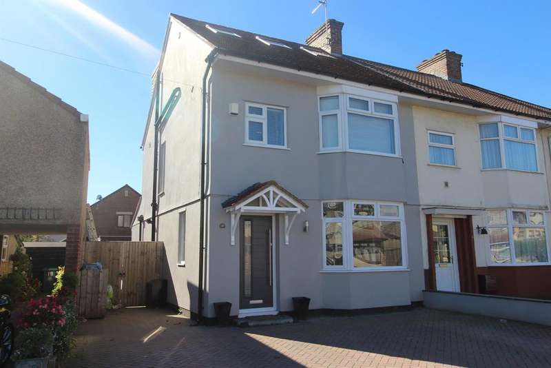4 Bedrooms End Of Terrace House for sale in Whitecross Avenue, Whitchurch, Bristol, BS14 9HZ