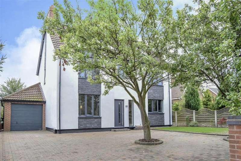 5 Bedrooms Detached House for sale in Abbott Road, Mansfield