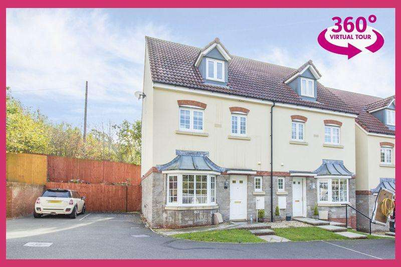 4 Bedrooms Semi Detached House for sale in Tirfilkins Close, Blackwood - REF# 00005447 - View 360 Tour At: http://bit.ly/2D4qM6y