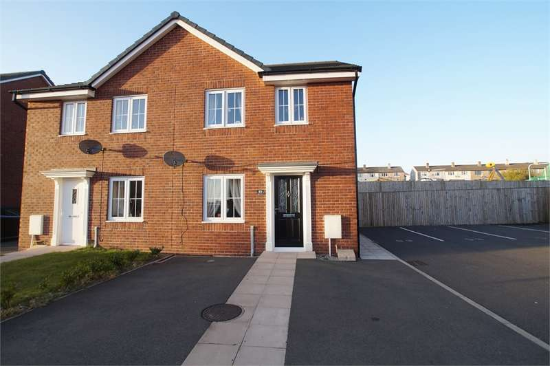 3 Bedrooms Semi Detached House for sale in CA26 3AT Weavers Avenue, Frizington, Cumbria