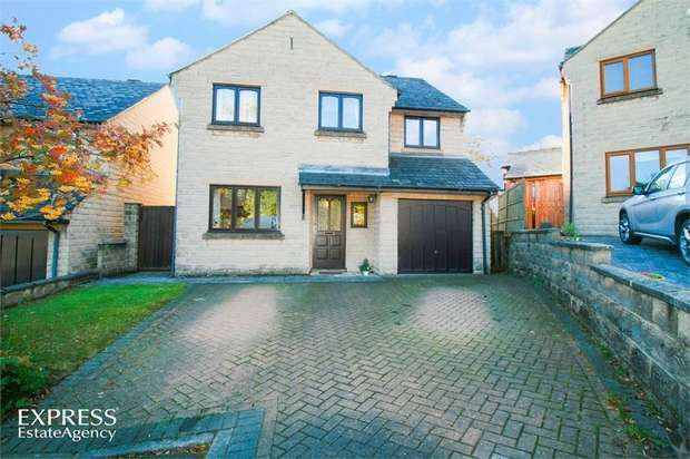 4 Bedrooms Detached House for sale in Fairview Rise, Crich, Matlock, Derbyshire