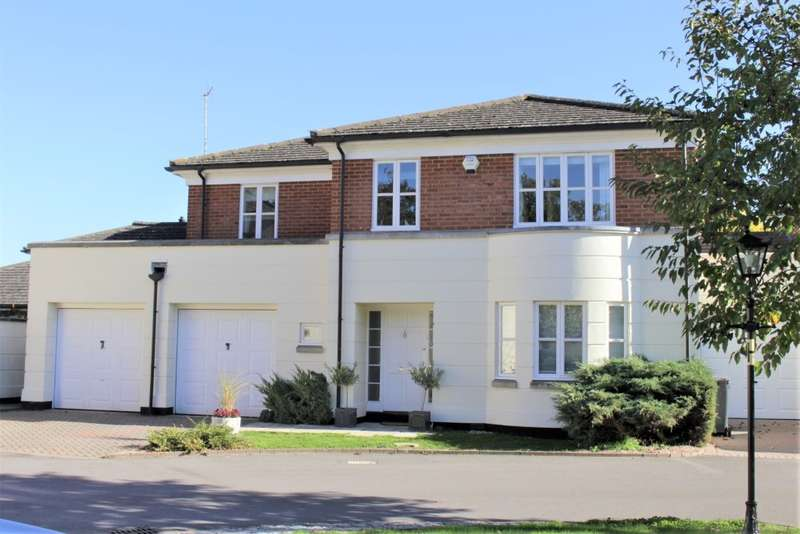 4 Bedrooms Link Detached House for sale in Wayland Close, Bradfield, Reading, RG7