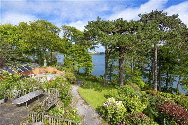 4 Bedrooms Detached House for sale in Restronguet Point, Feock, Truro, Cornwall, TR3