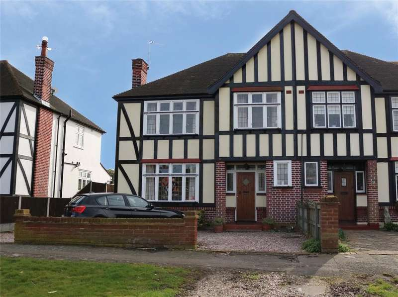 4 Bedrooms Semi Detached House for sale in Little Gaynes Lane, Upminster, RM14