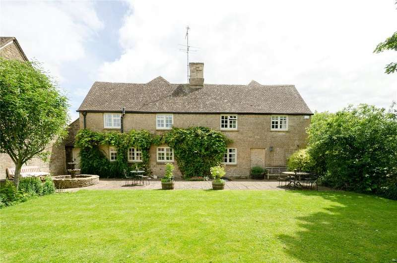 5 Bedrooms Detached House for sale in Rendcomb, Cirencester, Gloucestershire, GL7