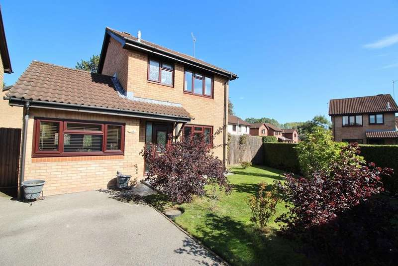 3 Bedrooms Detached House for sale in The Newlands, Mardy, Abergavenny, NP7