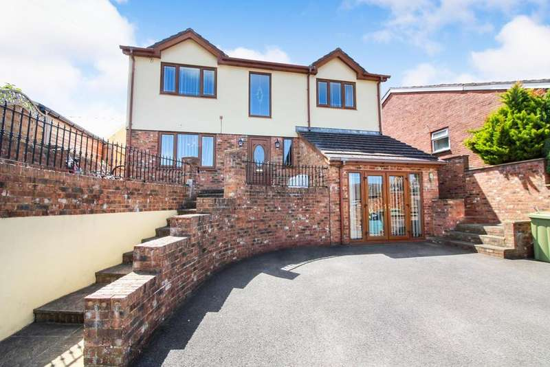 4 Bedrooms Detached House for sale in Basildene Close, Gilwern, Abergavenny, NP7